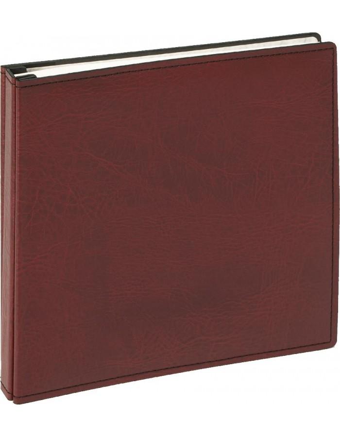 screw bound album PREMIUM in red - white pages