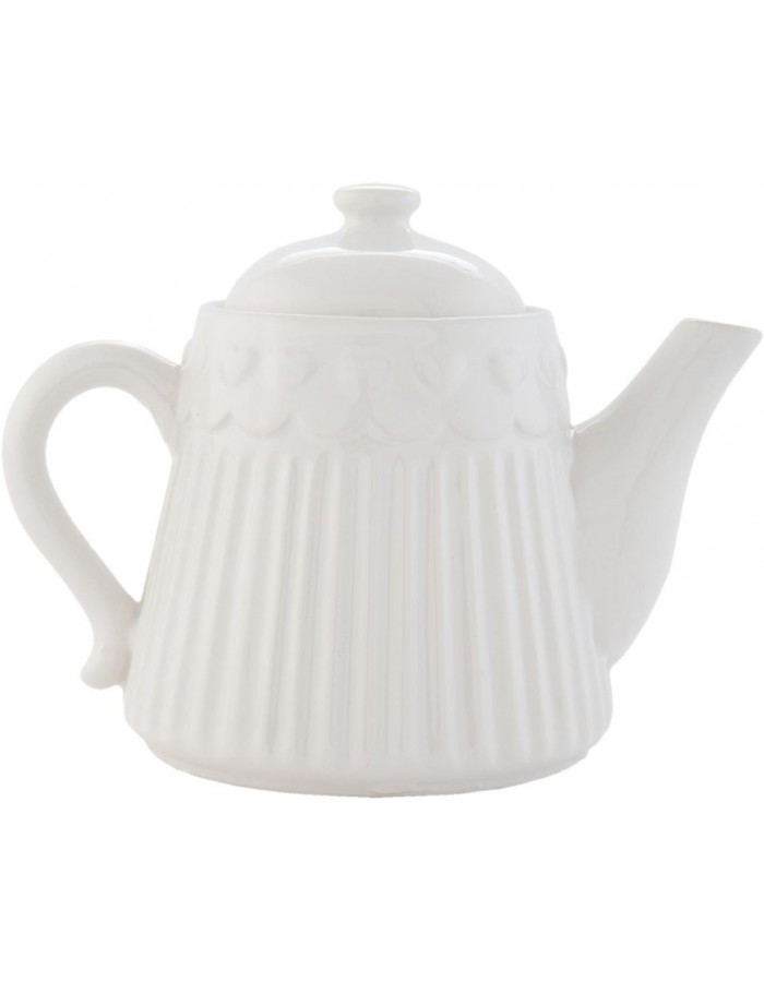 ROLTE teapot white  by Clayre Eef