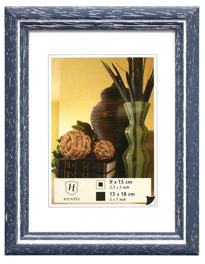Rahmen Holz Artos 20x30 - blau Henzo | fotoalben-discount.de