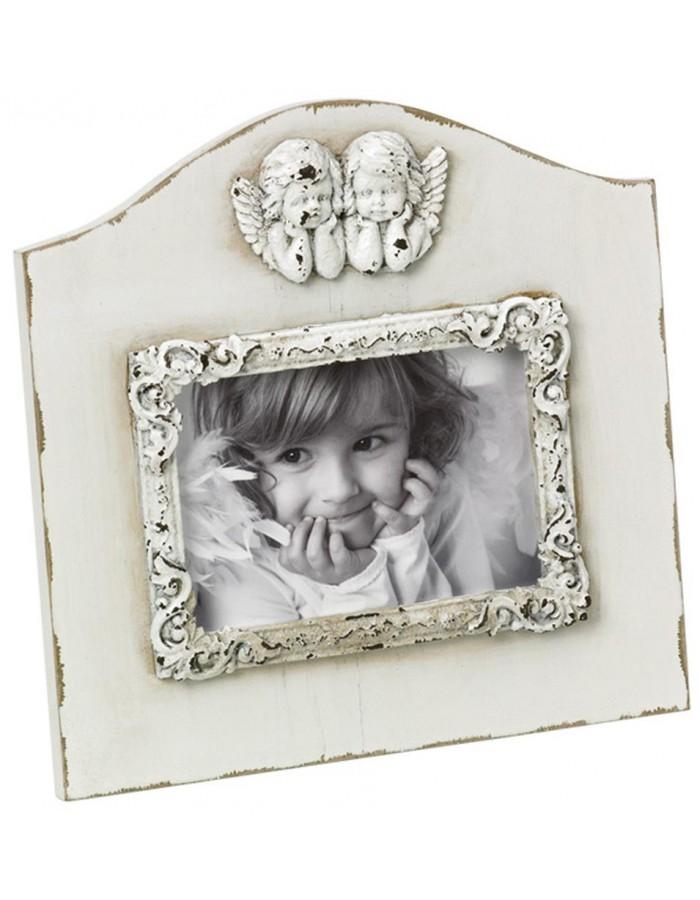 Walther frame baroque Angelo 9x13 cm white wood | fotoalben-discount.de
