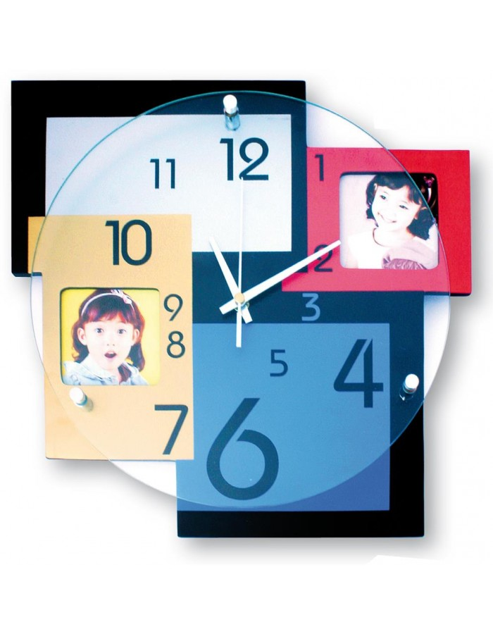 Frame clock Otello picture frame as clock 33x33 cm