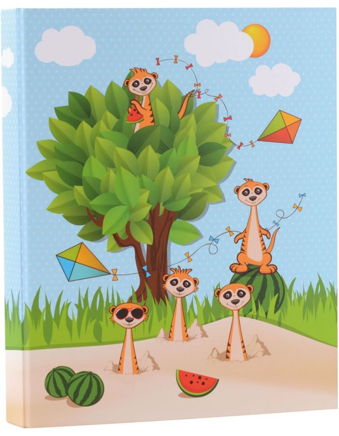 Ring Binder A4 Meerkats