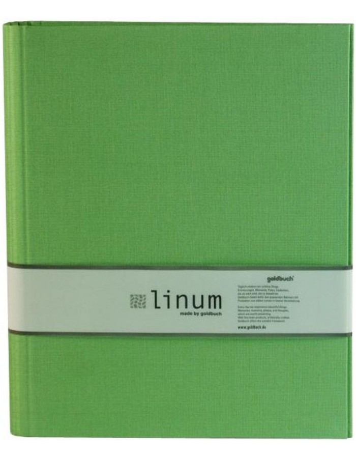 File in green Din A4 Linum