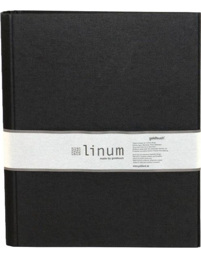 Ring Binder A4 Linum black