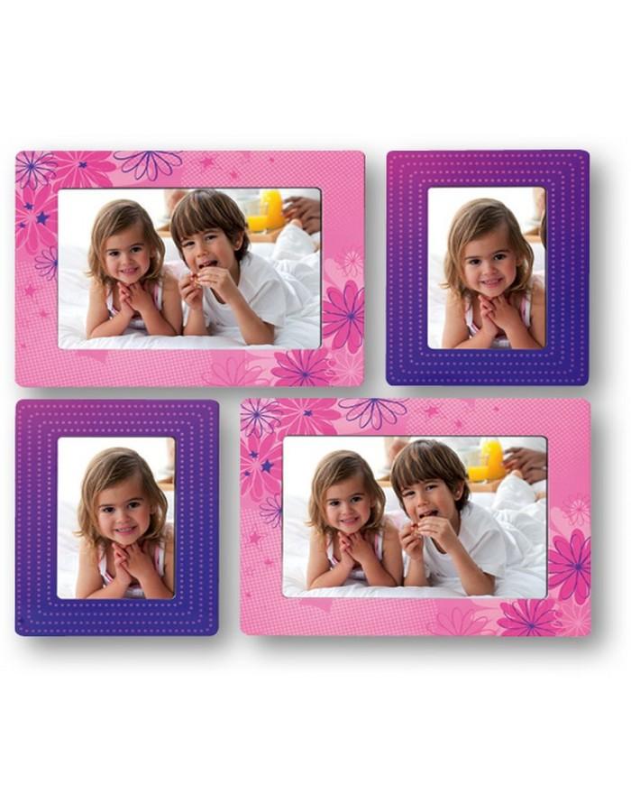 Kinder-Bilderrahmen selbstklebend für Bilder 10x15 cm