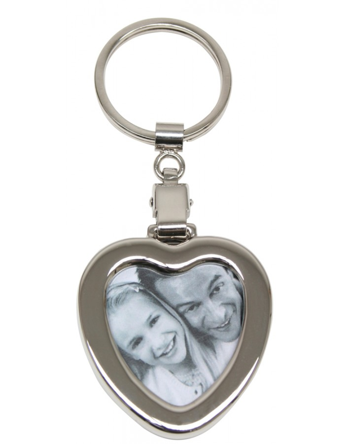 Key ring in the shape of a heart