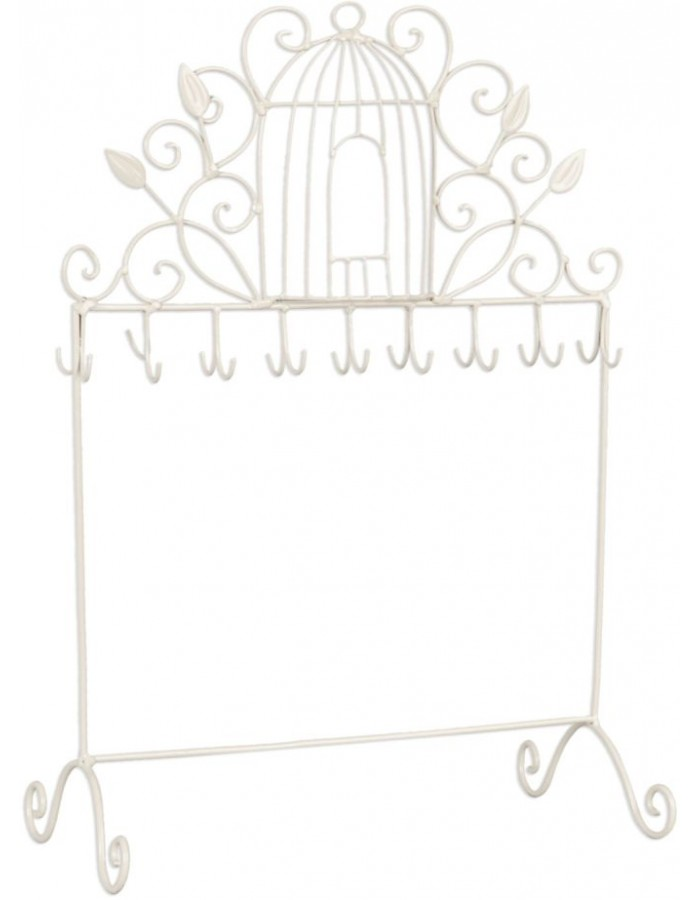 jewellery rack 6Y1387 in white
