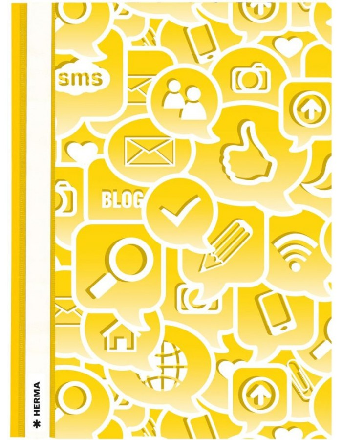 Folder A4 Social Icons yellow