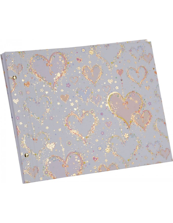 screw bound photo album Happily Ever After 39 x 31 cm