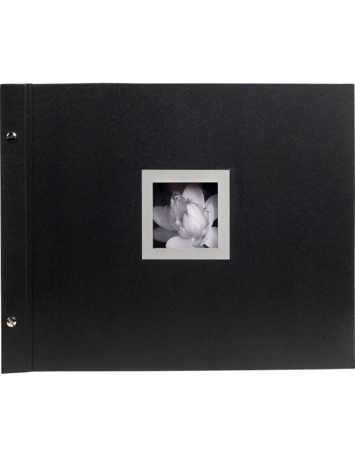 Post bound photo album Ceremony black side