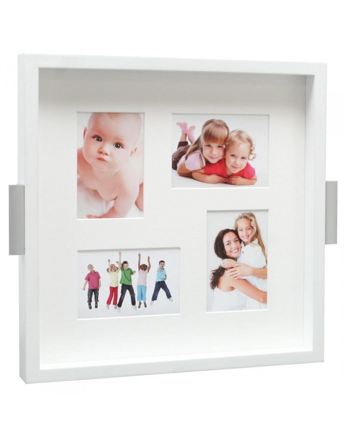 Picture tray Padoli in white