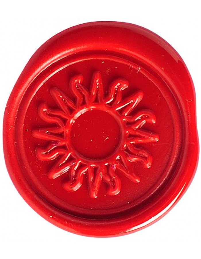 Set sealing wax sun
