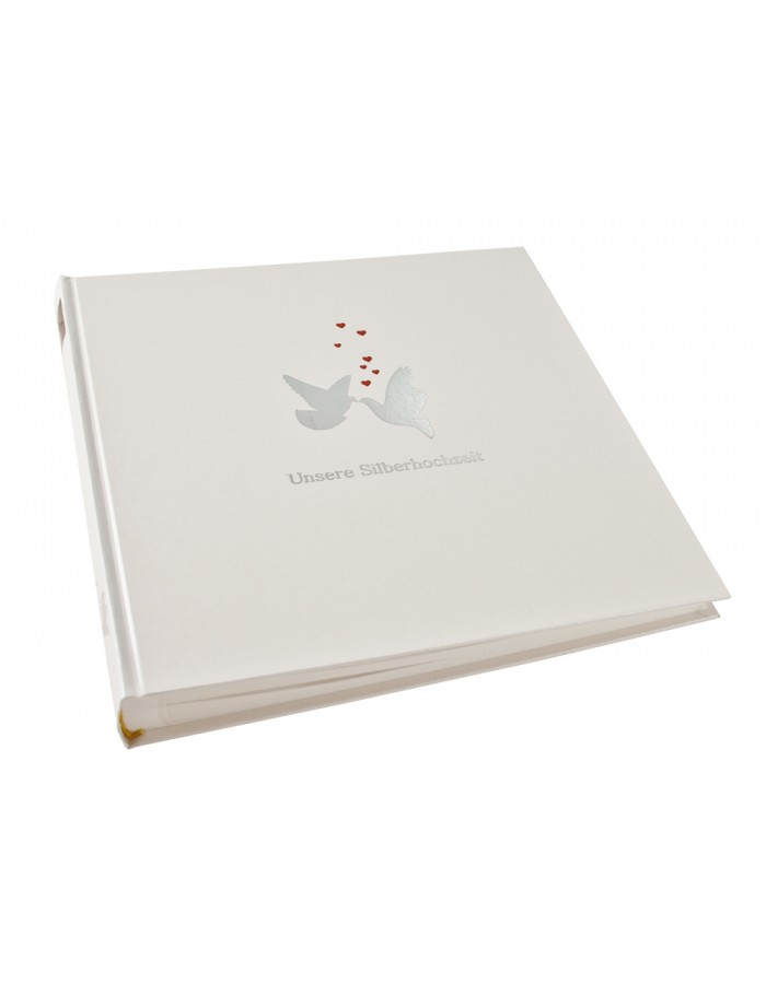 Album silver wedding Dove