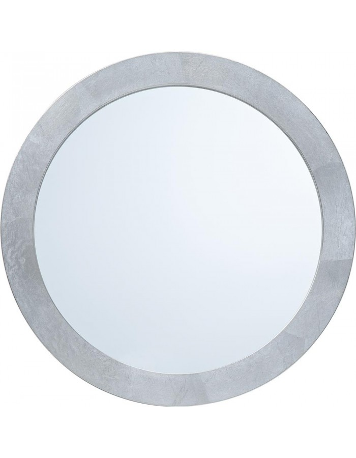 mirror with silver frame 40 cm
