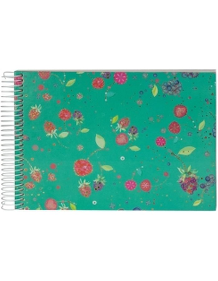 FRUITS GREEN spiral bound album
