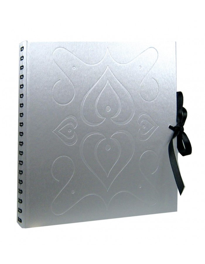spiral bound album SILVER HEART