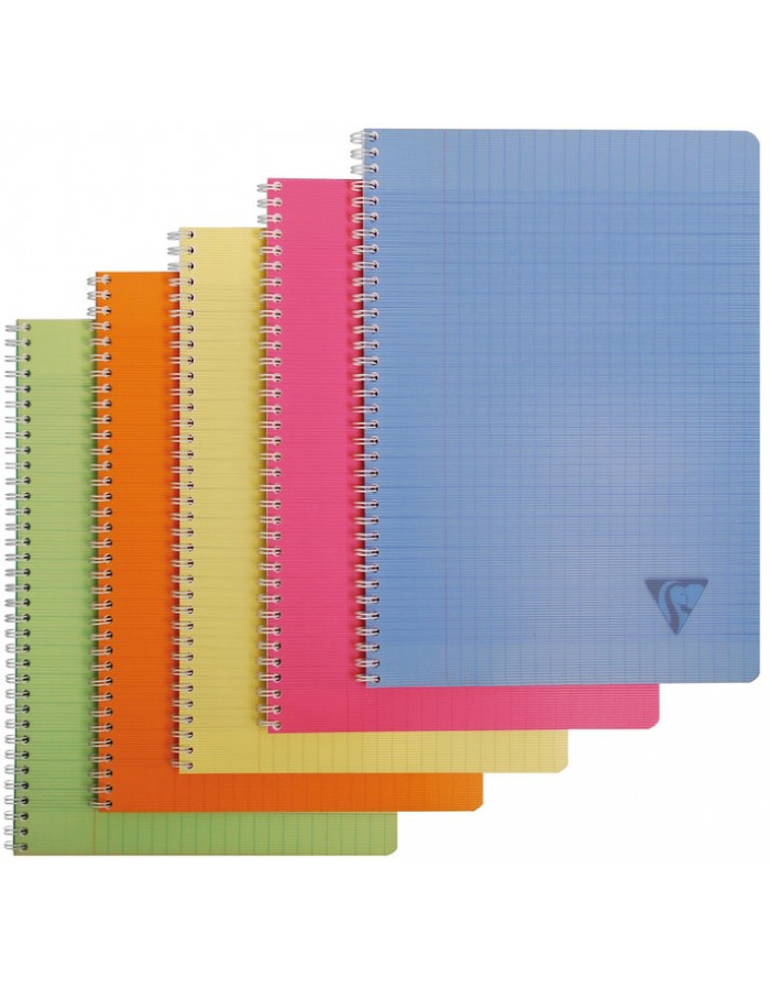 Spiral notebook A4 Linicolor double. Ruled 90 sheets