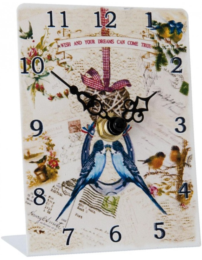 grandfather clock coloured - 6KL0293 Clayre Eef