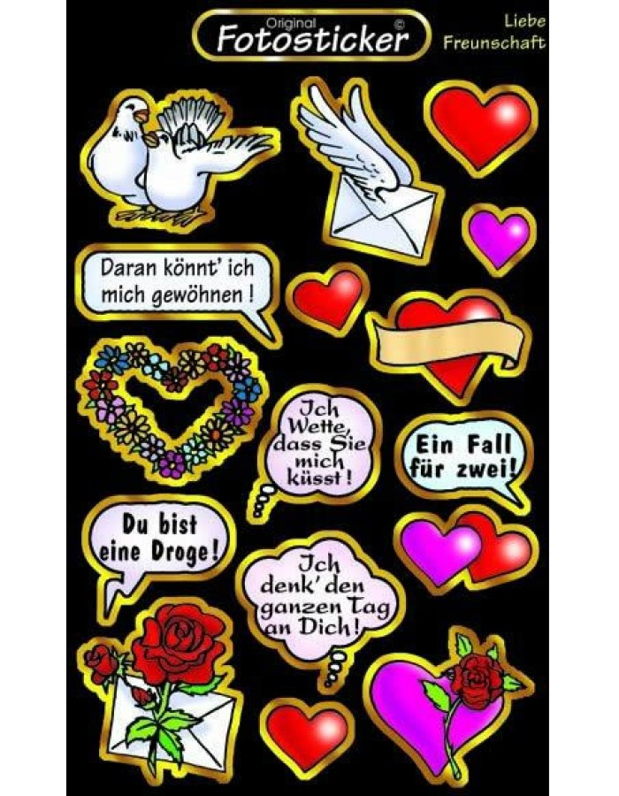 Sticker - Love - Friendship