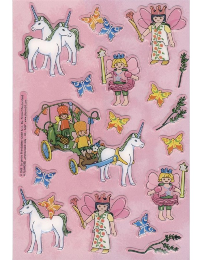 decorative labels Playmobil Feen 1 sheet