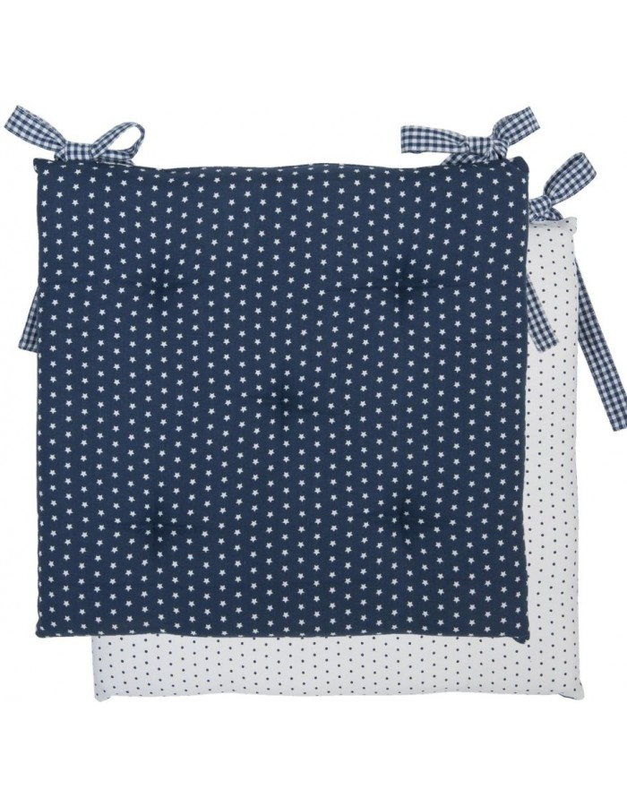 chair cushion blue 40x40 cm - Twinkle Little Star