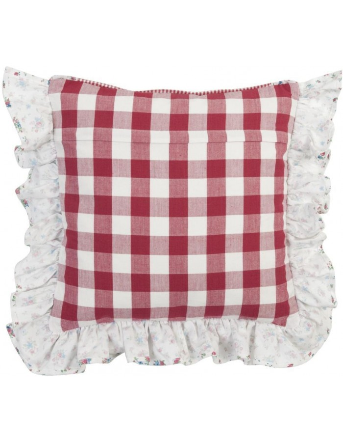 Chair Cushion Cover My Favourite Dish red 40x40 cm
