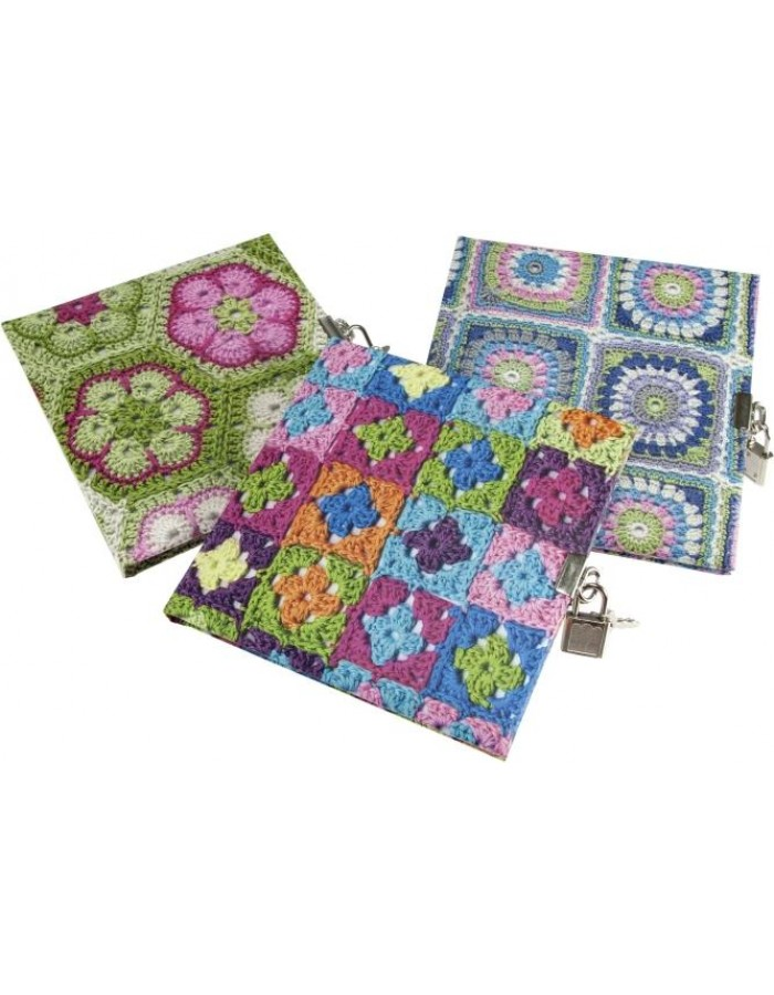 Granny Squares diary assorted 1 piece