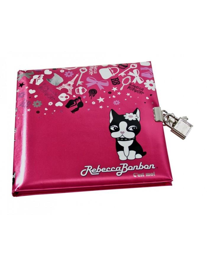 Diary Rebecca Bonbon In Pink Gold Book Fotoalben Discountde