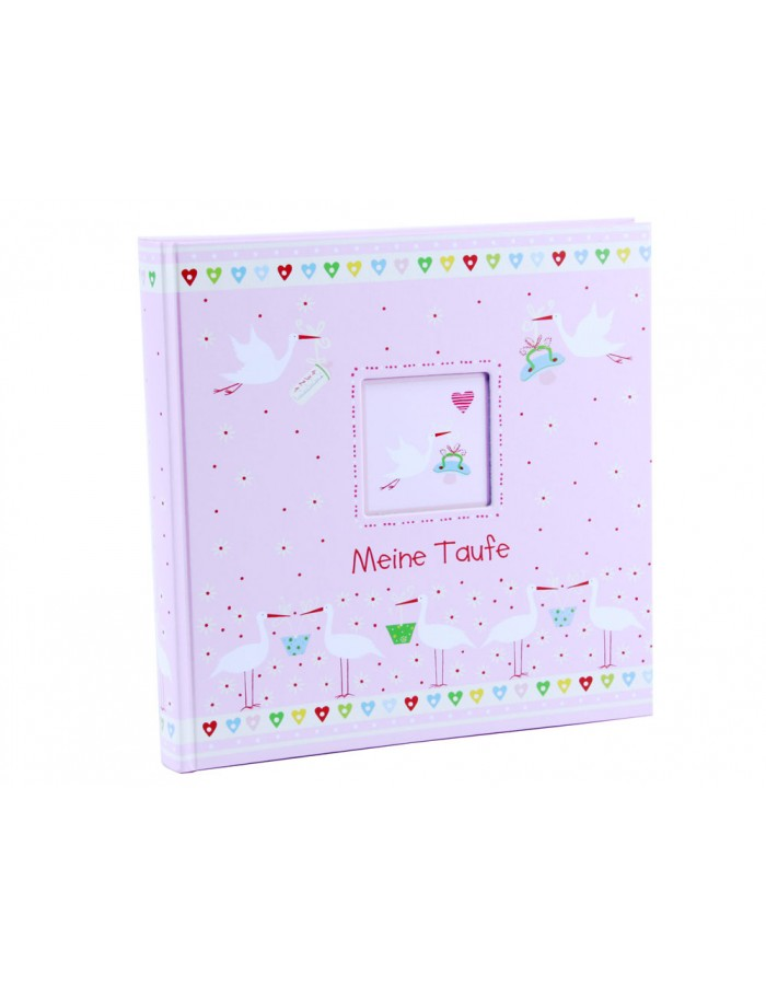Baptism album Little me pink