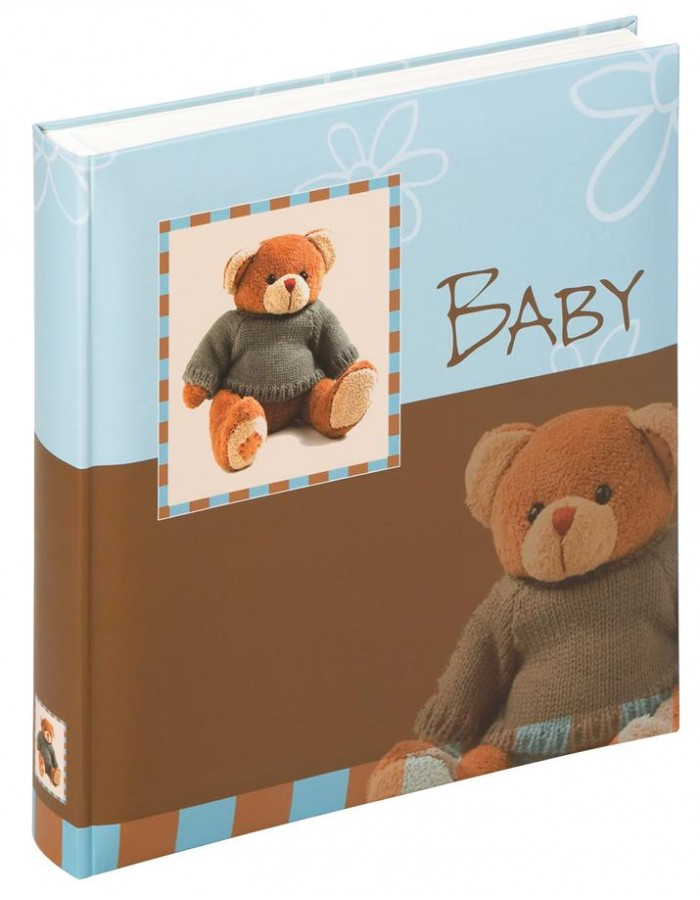 baby album TEDDY blue