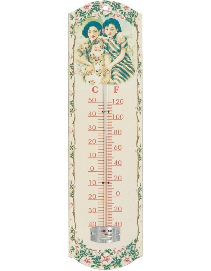 Thermometer 7x26,5 cm Frauen
