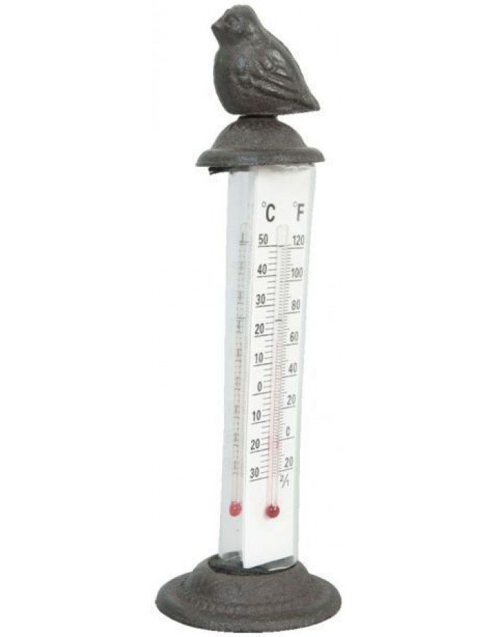 thermometer brown - 6Y0986 Clayre Eef