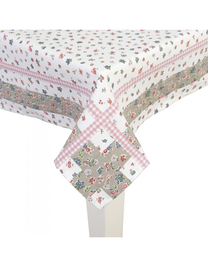 Tablecloth 130x180 cm Lets Cook pink