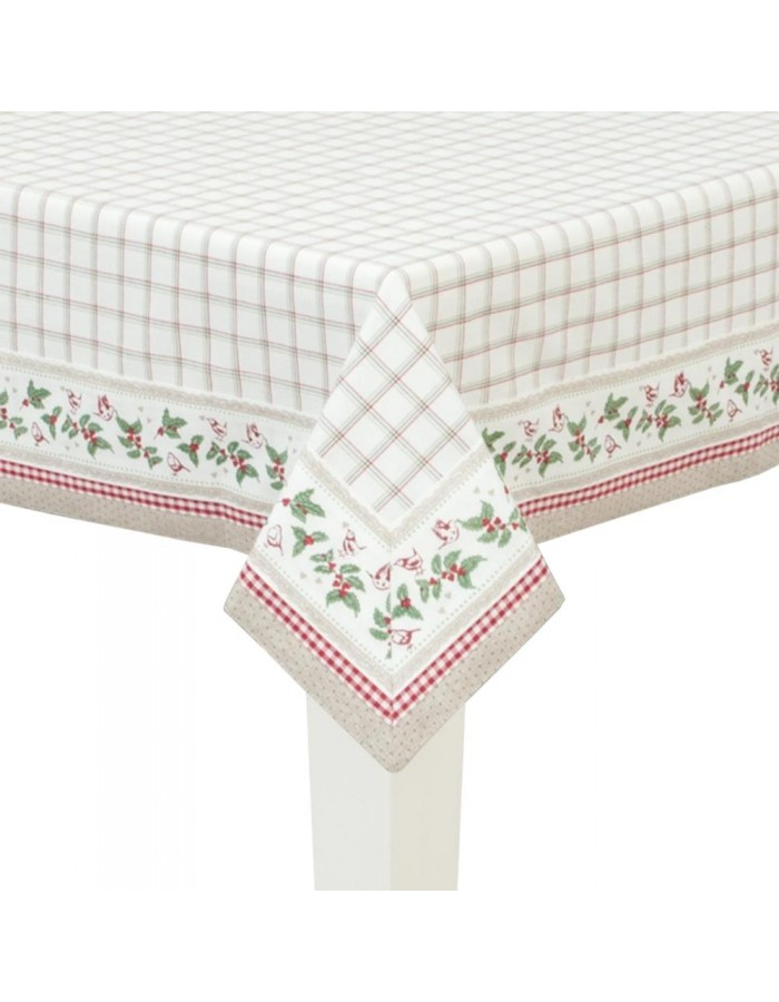 Tablecloth 150x150 cm Enchanting Christmas Melodies