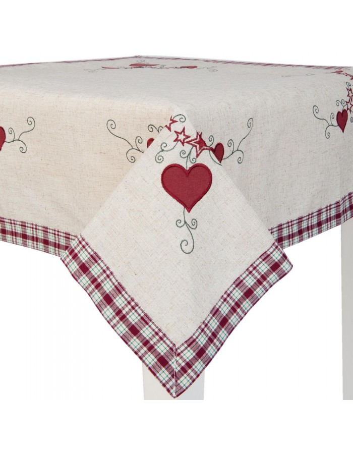 table-cloth S015.001 Clayre Eef 85x85 cm