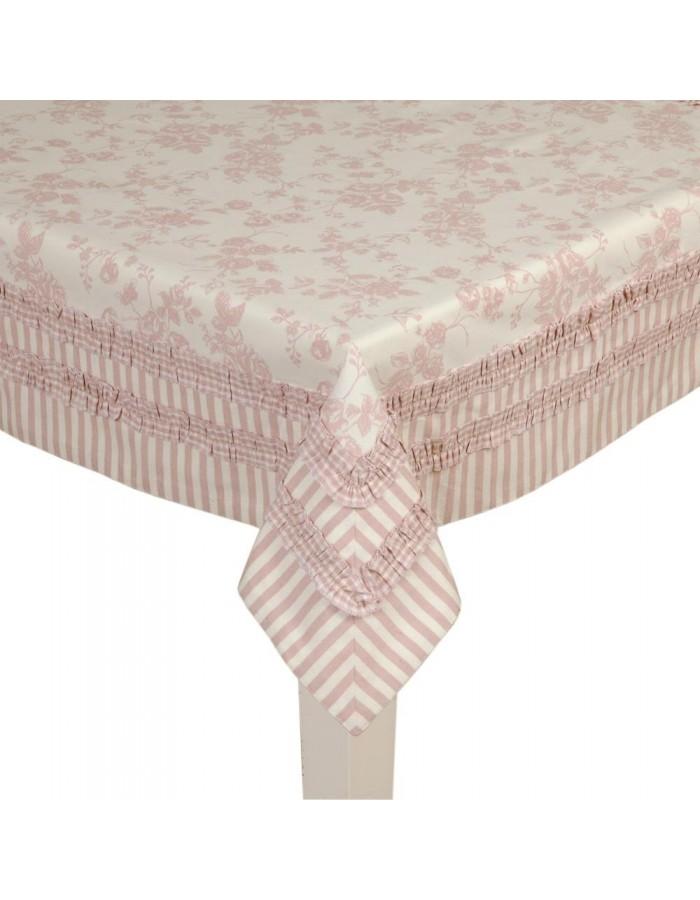 rosa tischdecke interesting runde tischdecke weirosa kollektion brooklyn with rosa tischdecke. Black Bedroom Furniture Sets. Home Design Ideas