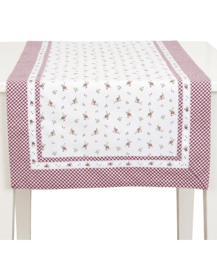 table runner 50x140 cm - Roses Pour Louise