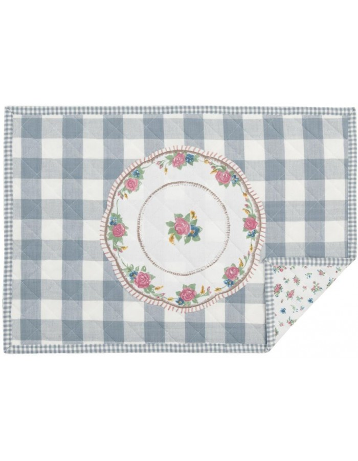 Placemat My Favorite Dish 48x33 cm blue