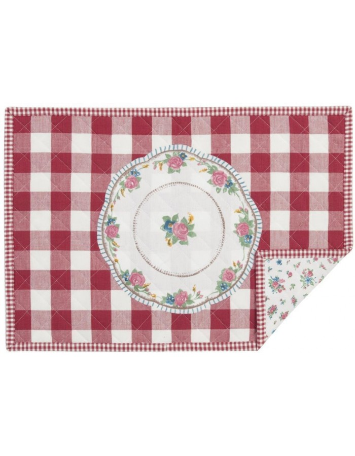 Placemat My Favorite Dish 48x33 cm red
