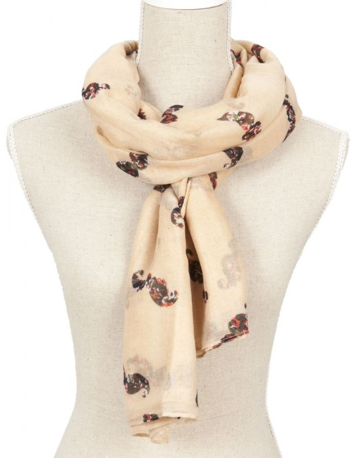 scarf SJ0362P Clayre Eef in the size 110x180 cm