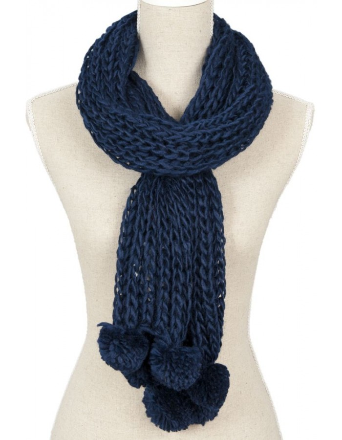 15x140 cm synthetic scarf SJ0457BL Clayre Eef