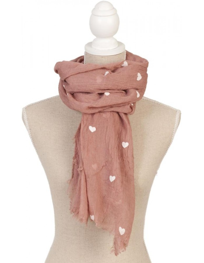 scarf SJ0502LA Clayre Eef in the size 80x180 cm