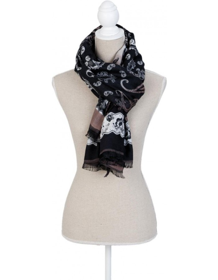 70x180 cm synthetic scarf SJ0578Z Clayre Eef
