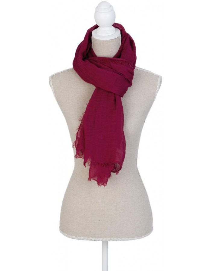 scarf SJ0600R Clayre Eef in the size 88x178 cm