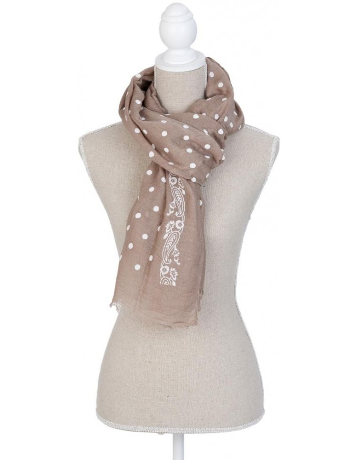 scarf SJ0620BGR Clayre Eef in the size 70x180 cm
