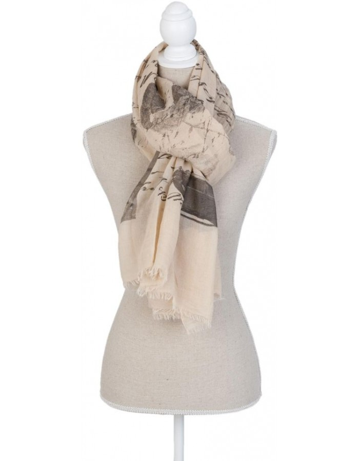 scarf SJ0652DB Clayre Eef in the size 90x180 cm