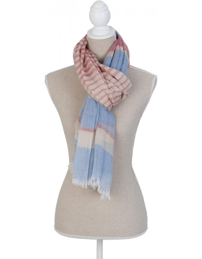 scarf SJ0673BL Clayre Eef in the size 70x180 cm