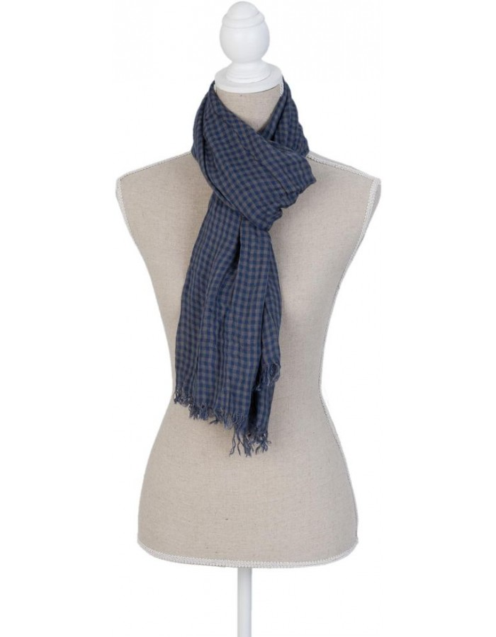 160x60 cm synthetic scarf SJ0675BL Clayre Eef