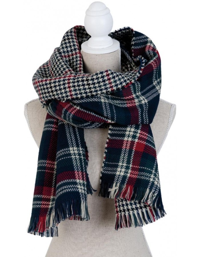 scarf SJ0681BL Clayre Eef in the size 55x200 cm