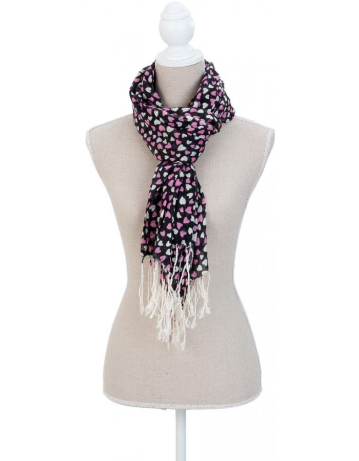 70x170 cm synthetic scarf SJ0691F Clayre Eef